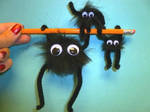 Large and Small Soot Sprites!
