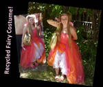 Recycled Fairy Costume!