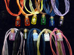 Zelda Themed Potion Necklaces