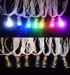 A RAINBOW of LED Zelda Fairy Bottle Necklaces!!!