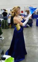 Zeldanime Blue Ball Gown Zelda 4