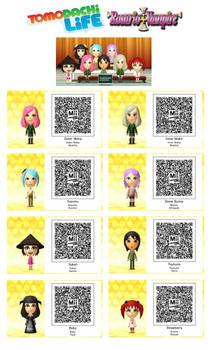 Tomodachi Life - Rosario + Vampire 3DS