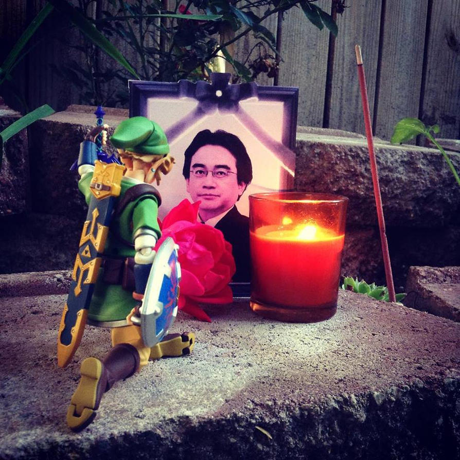 RIP Iwata by Linksliltri4ce