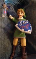 Fimga Link and a Tiny Bottle Fairy