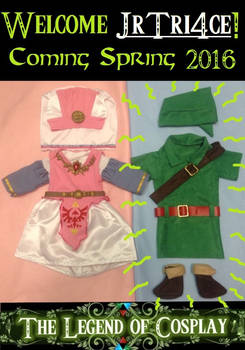 Our Nerdy Zelda-Themed Baby Announcement 2