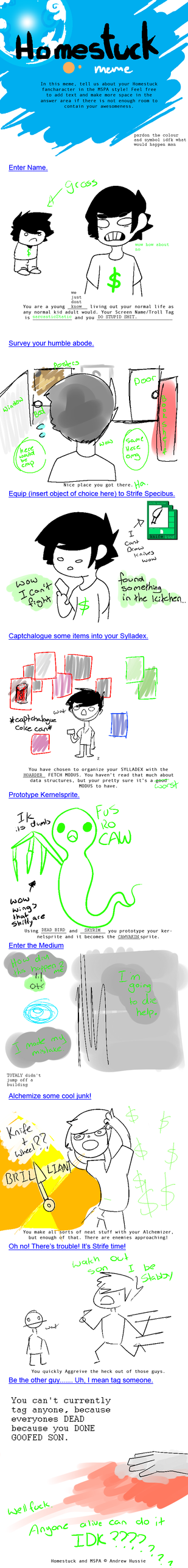 Homestuck Meme by 5wa1n