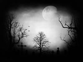 Cemetery. by Darxen