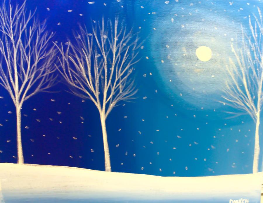 Blue Winter. by Darxen