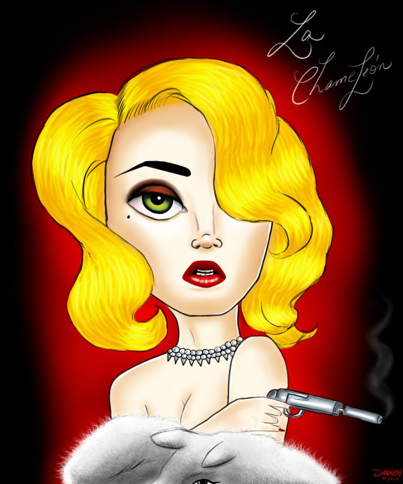 Machete Kills- Lady Gaga as 'La Chameleon' by Darxen