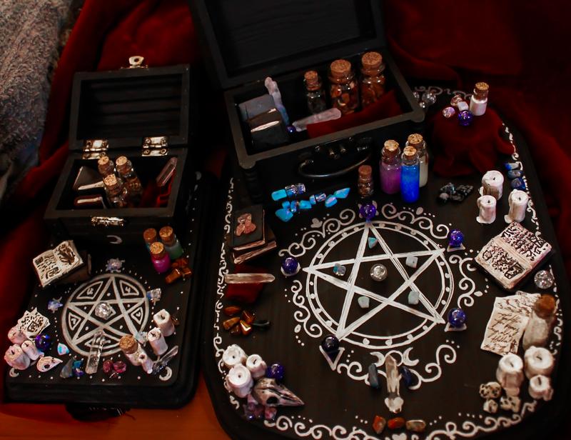 Witch S Altars By Darxen On Deviantart