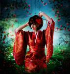 Geisha Garden by MysticSerenity
