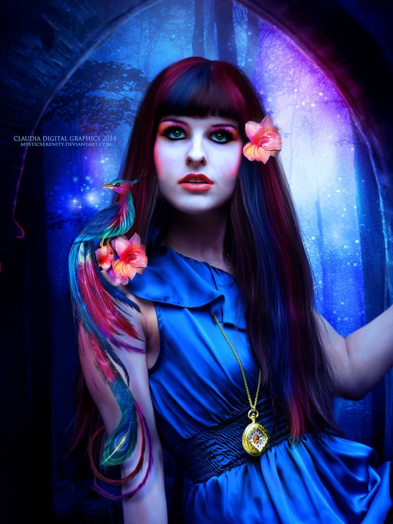 Vision of Fantasy by MysticSerenity