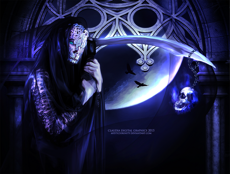 Veils of Death by MysticSerenity