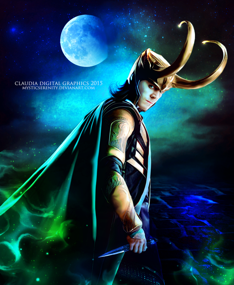 Loki The God of Lies and Mischief by MysticSerenity