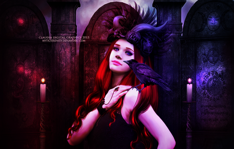 Lilith s Temple by MysticSerenity