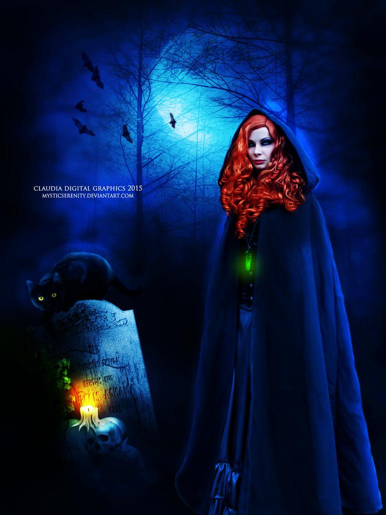 Haunting Night by MysticSerenity