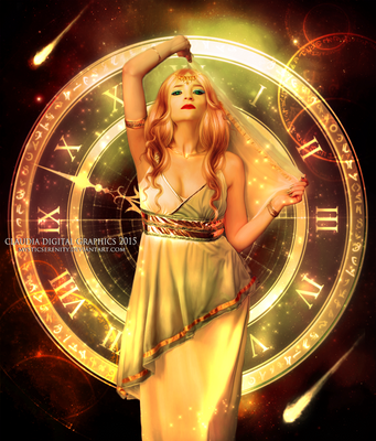 Mythology   Goddess by MysticSerenity