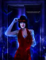 Jacqueliniiee Vampire by MysticSerenity