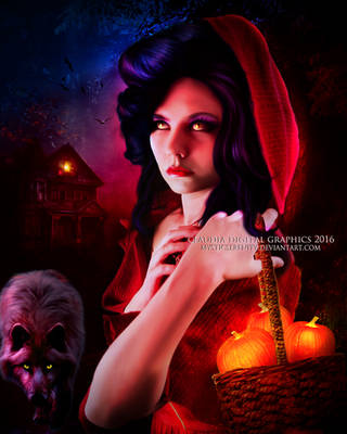The Red Ridding Hood by MysticSerenity