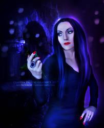 Morticia by MysticSerenity