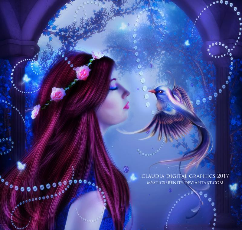 Embracing My Dreams by MysticSerenity