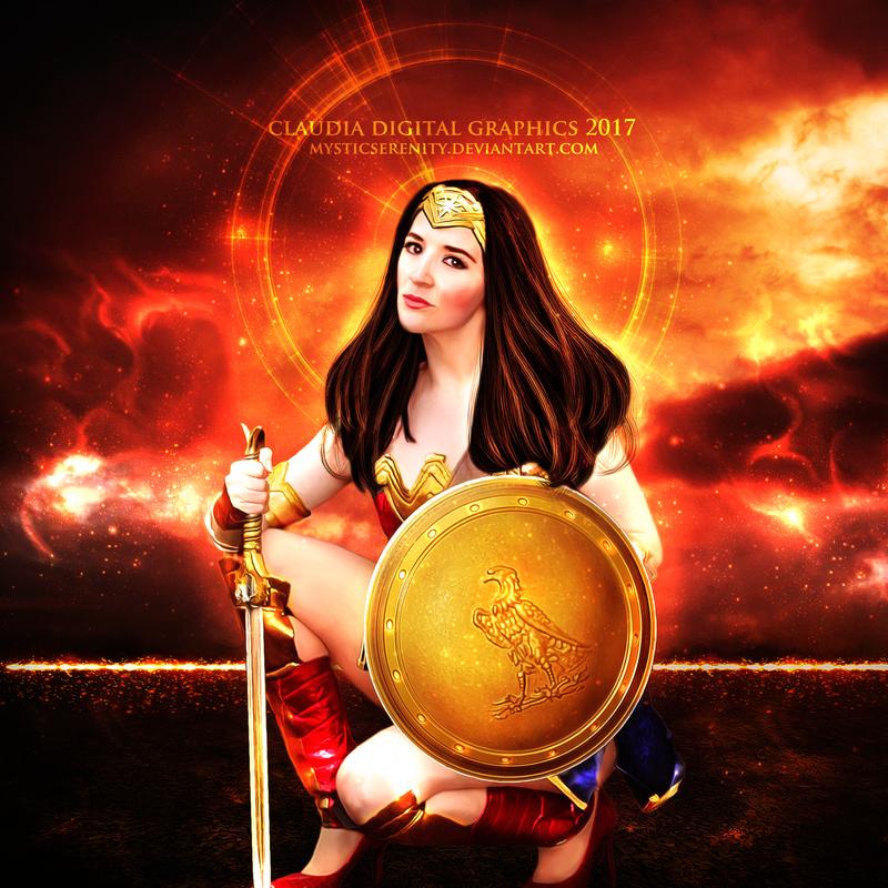 Wonder Woman by MysticSerenity