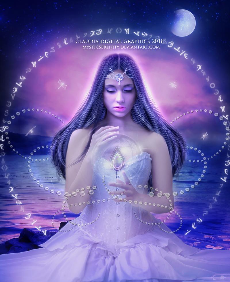 Moon Crystal by MysticSerenity
