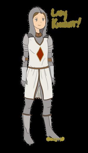 Lady Knight! by Gleasonn