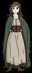 Bard Woman by Gleasonn