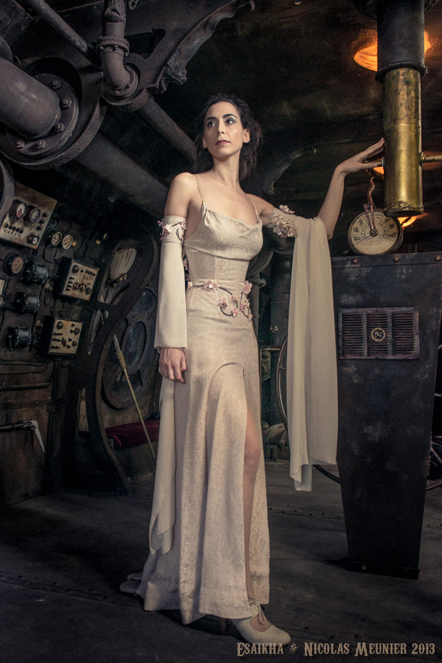 DeviantArt: More Like White underbust corset dress 2012 collection ...