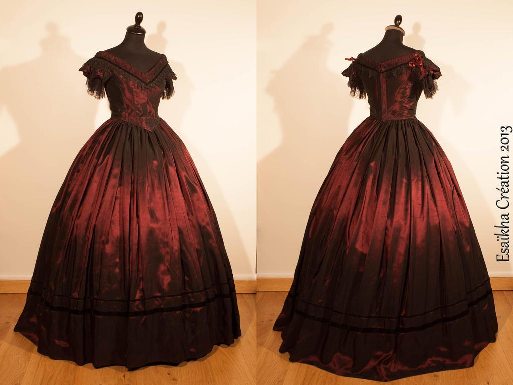 Как сшить платье бальное 18 века 3