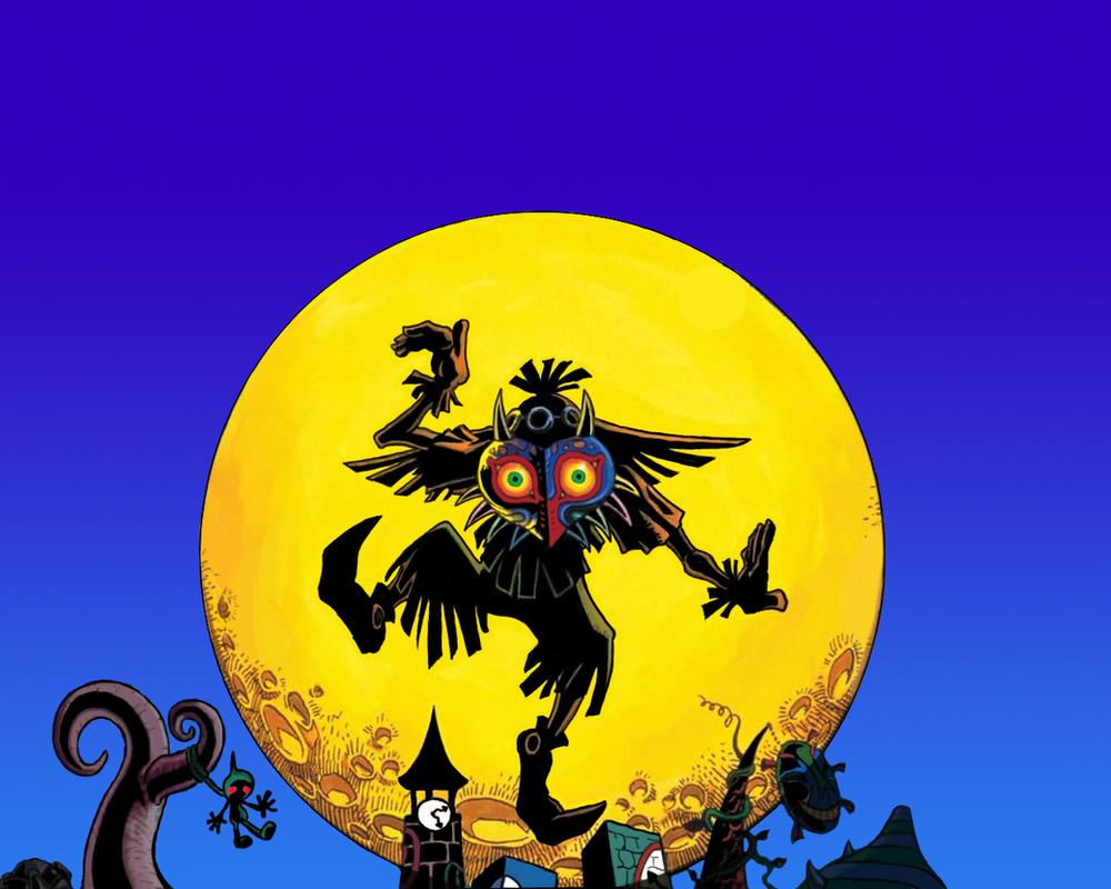 Legend of Zelda - Majora's Mask Wallpaper by Demi-feind on DeviantArt