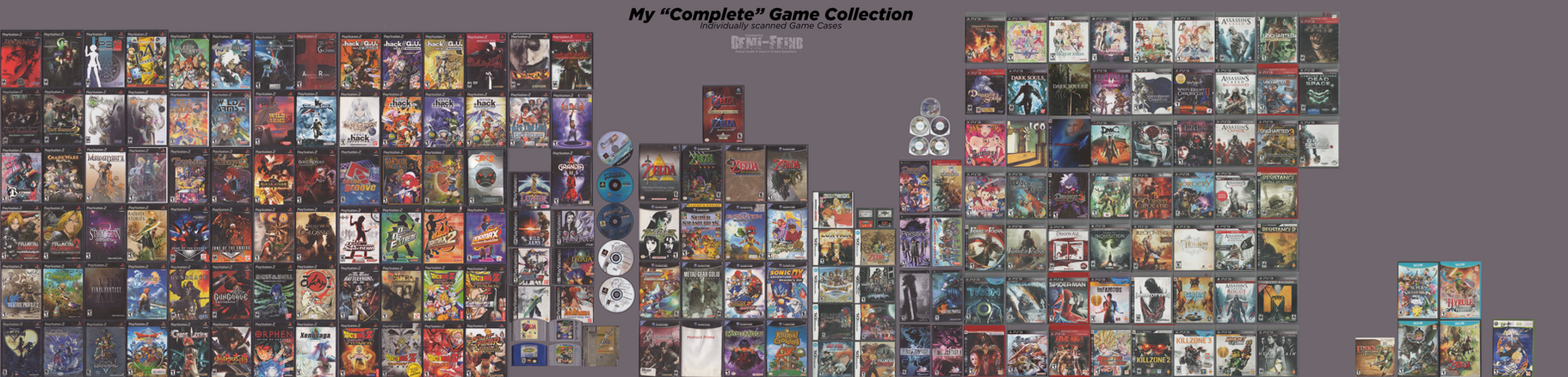My ''Complete'' Game Collection by Demi-feind