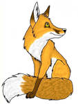 Colored Fox by ariastrife
