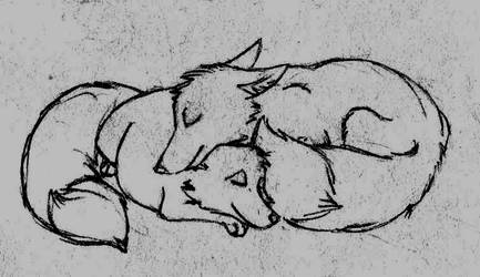 Cuddles by ariastrife