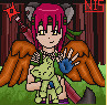Ninja Girl Port by ariastrife