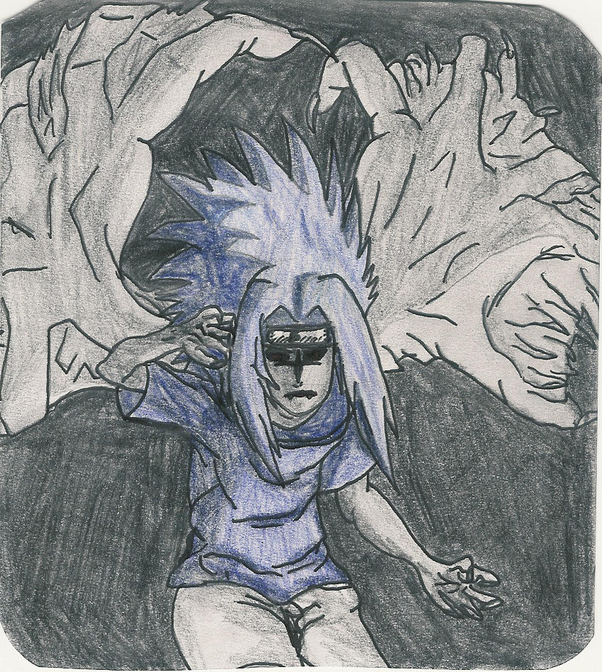 Sasuke in Curse form by AkatsukiFan505 on DeviantArt