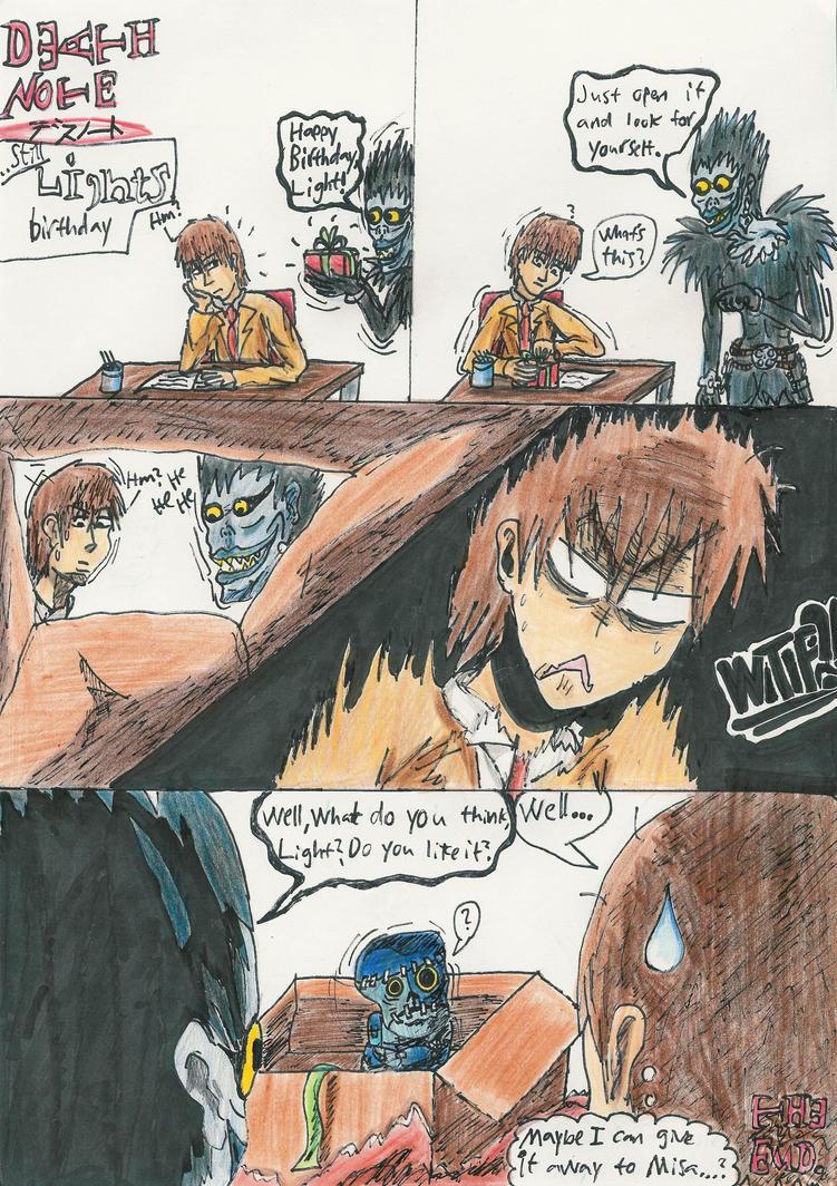 Death Note: Lights birthday 2 by AkatsukiFan505
