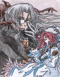 Trinity Blood_-_Abel and Esther by AkatsukiFan505