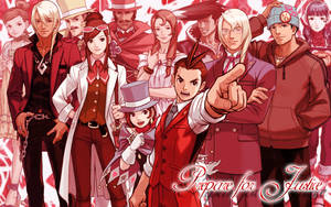 Apollo Justice Wallpaper by Indy-chan