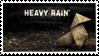 Heavy Rain Origami Stamp