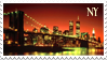 New York Stamp NY by Indy-chan