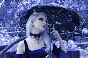 Blue Gothic Princess by WhimsicalBlue