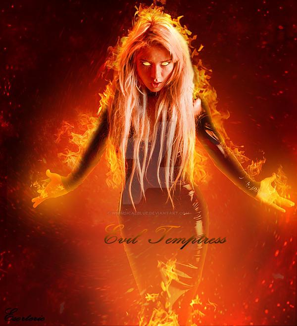 ...Evil Temptress... by SilentDreamer-Art