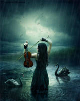 Swan Song by WhimsicalBlue