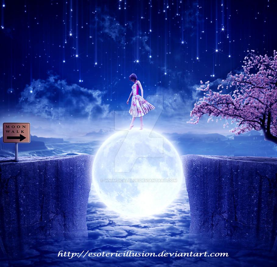 Moon Walk by WhimsicalBlue