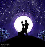 Dancing with moon...