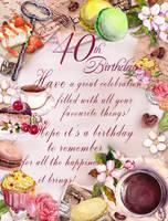 Happy 40th Birthday Jenene