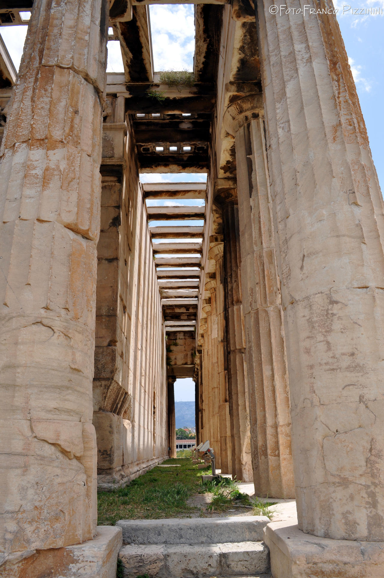 Athens, temple of Hephaestus by lailalta on deviantART