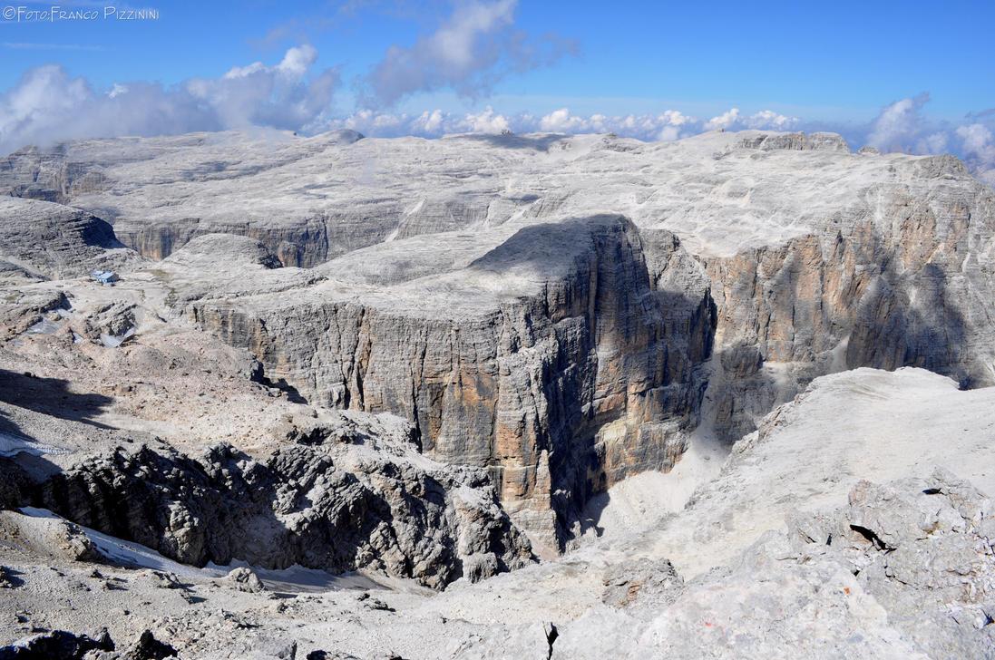 Sella plateau by lailalta